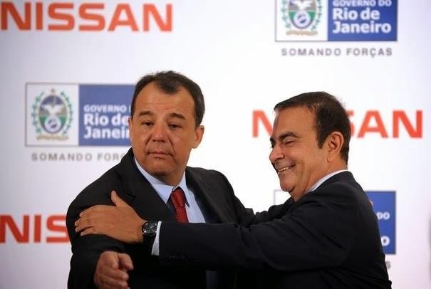 Nissan promete fábrica de carros elétricos no Rio