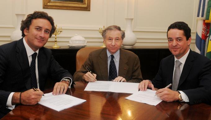 FIA Formula E Start Signature