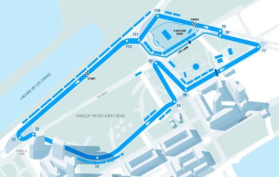 Conversao Eletrica FIA Formula E Track Buenos Aires