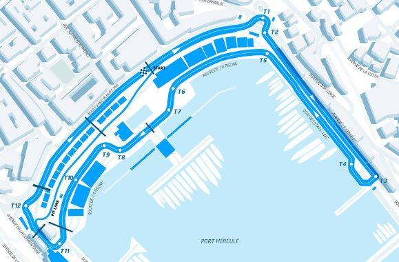 Conversao Eletrica FIA Formula E Track Monte Carlo
