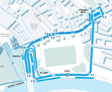Conversao Eletrica FIA Formula E Track Moscou