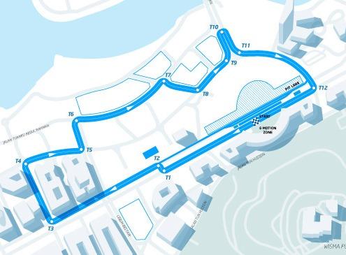 Conversao Eletrica FIA Formula E Track Putrajaya