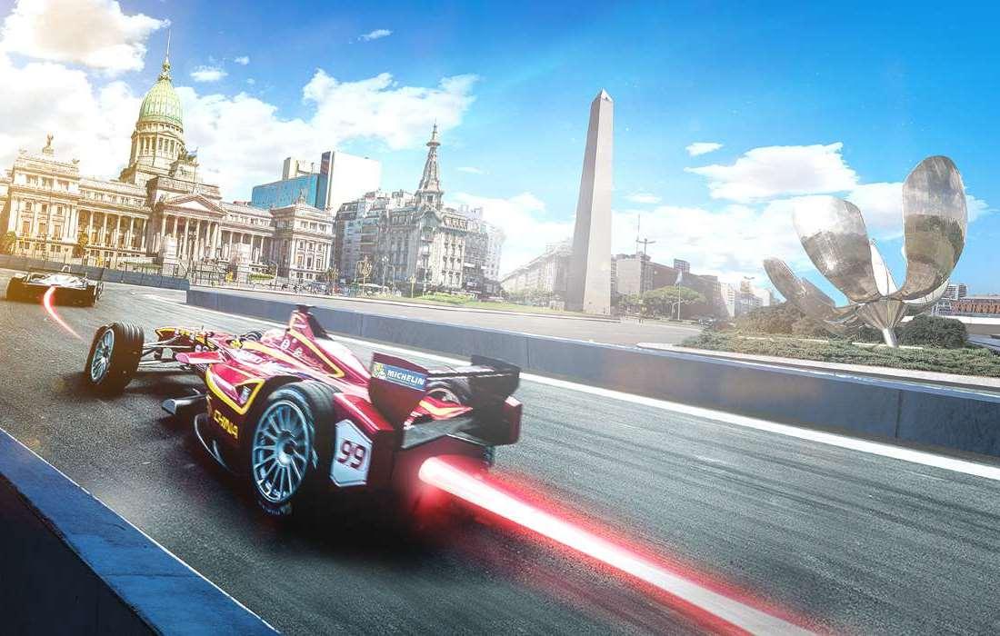 Conversao Eletrica FIA Formula E View Buenos Aires