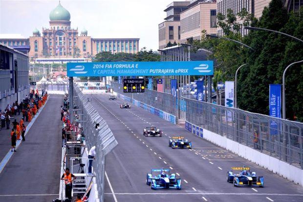 Conversao Eletrica FIA Formula E  View Putrajaya