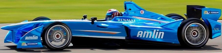 Amlin Aguri Formula E Team Car