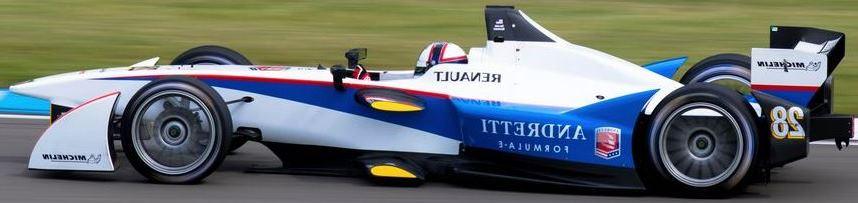 Andretti Formula E Team Car