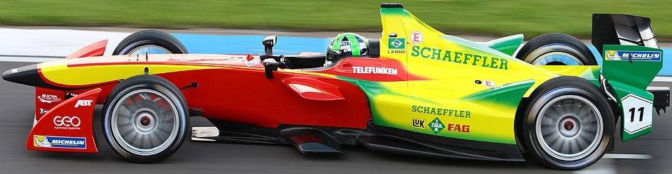 Audi Sport ABT Formula E Team Car