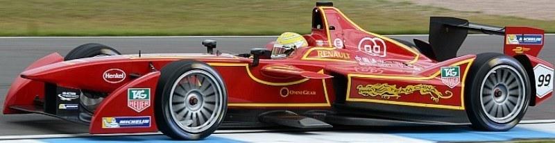 China Racing Formula E Team Car