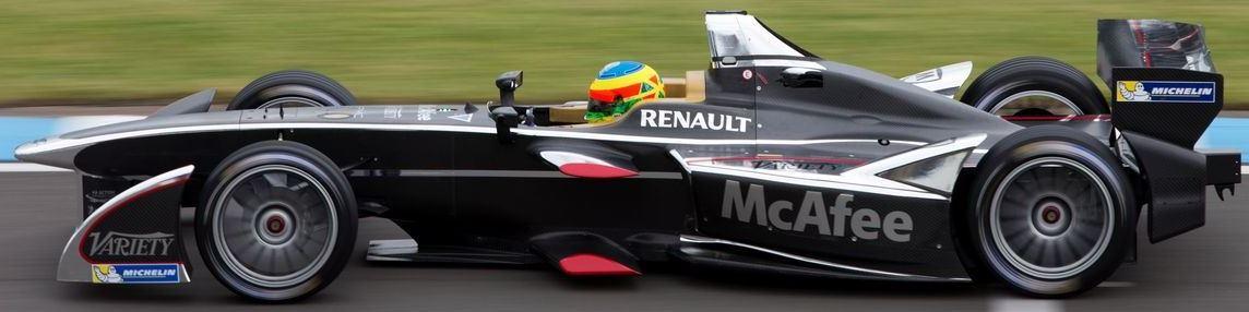 Dragon Racing formula E Team Car
