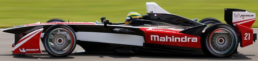 Mahindra Racing Formula E Team Car
