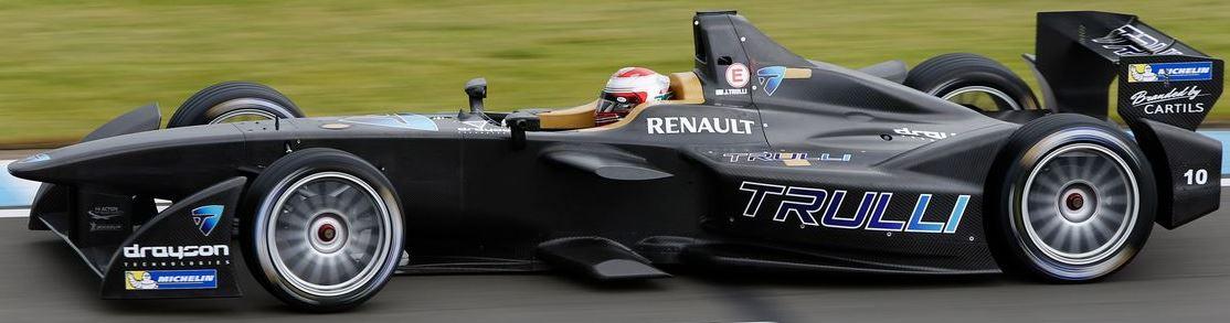 Trulli Formula E Team Car