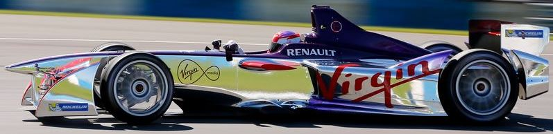 Virgin Racing Formula E Team Car