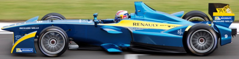 e.dams Renault Formula E Team Car