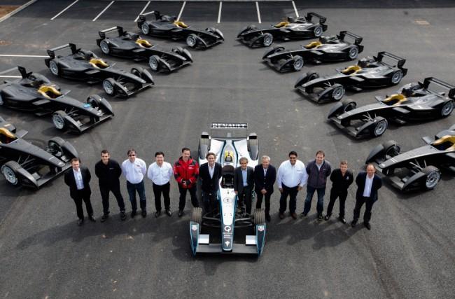 As Escuderias da FIA Formula E Championship
